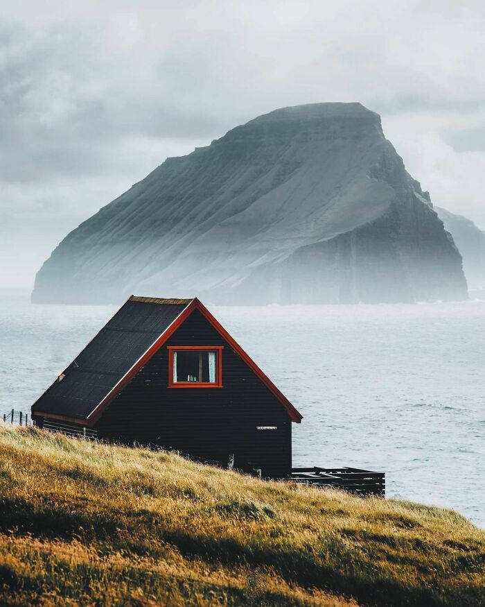 This Cabin In The Faroe Islands