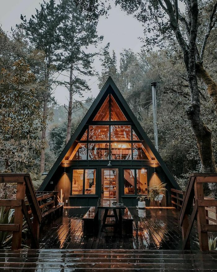 This Cabin In Inverness, California