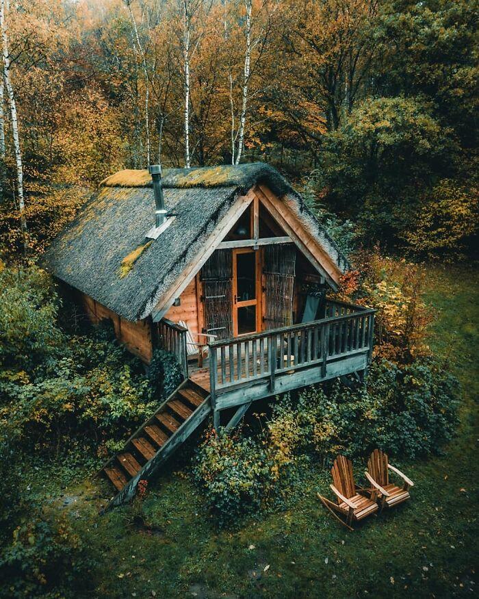 This Cabin In Belgium