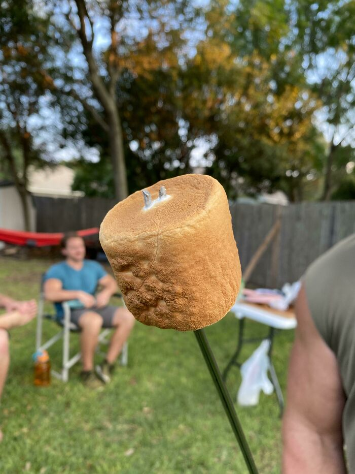 A Perfectly Cooked Marshmallow
