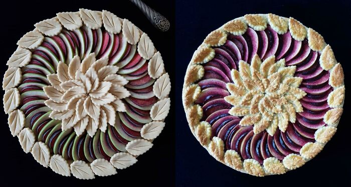 Plum And Apple Pie