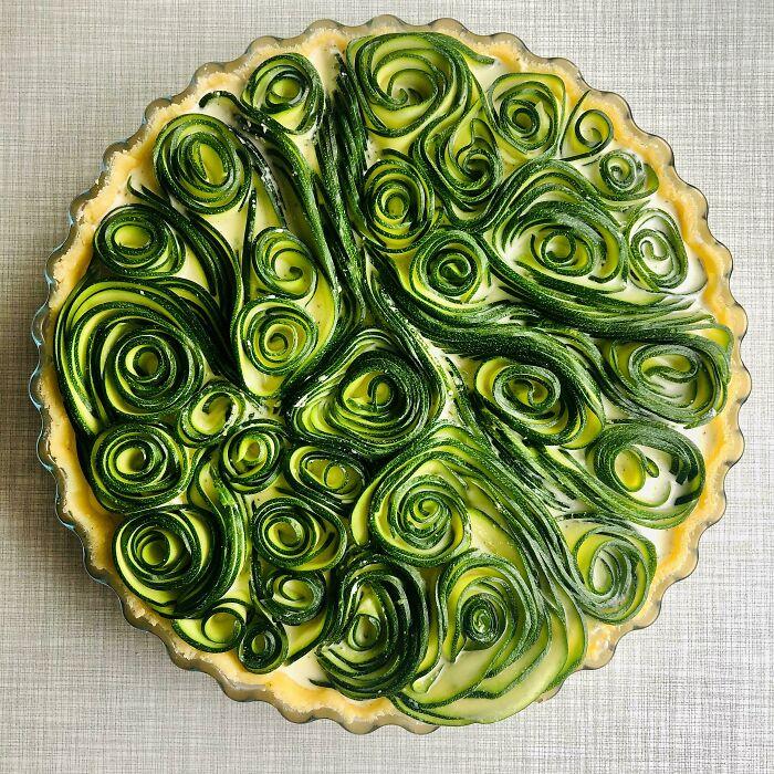 Homemade Zucchini Quiche
