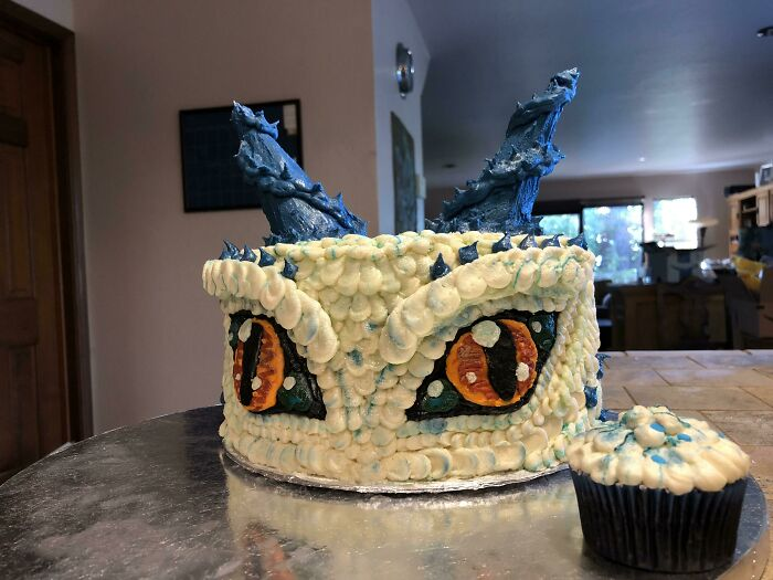 This Cake My Wife Stayed Up All Night Making For Our Son's Birthday