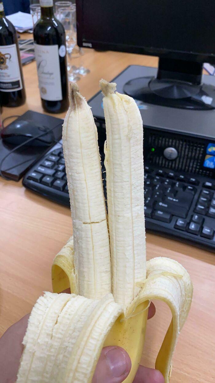 Plátanos gemelos