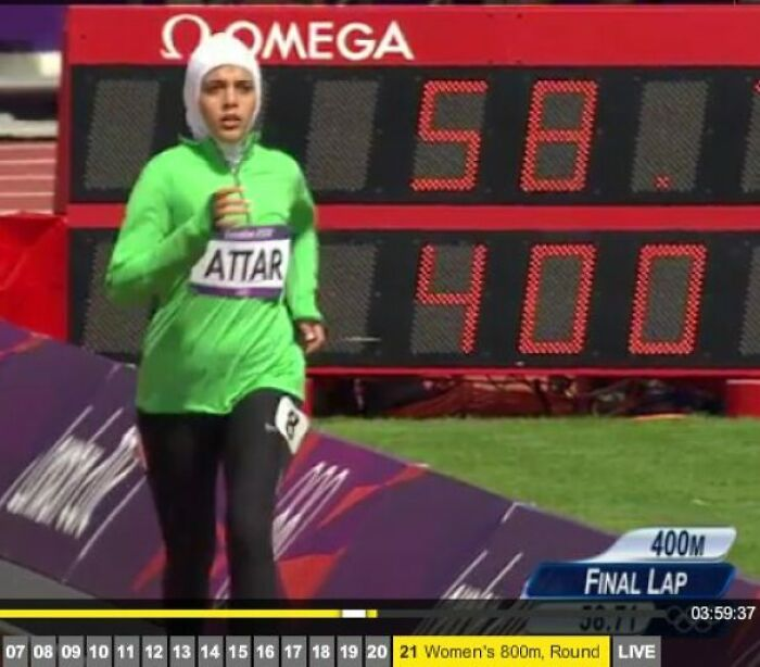 Dead Last Of Her Heat In 800 Meters, But Yet We Are All Proud Of You: Sarah Attar, First Saudi Woman To Compete In Athletics At The Olympics