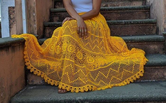 I Finished One More Skirt. The Most Beloved Skirt In My Studio And The Customers Love It. What Do You Think?