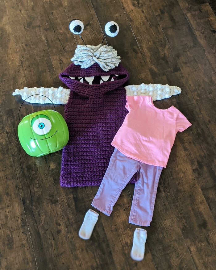 This Year's Costume For My Little Girl Is Finally Complete!
