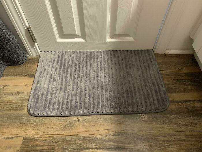 Mi alfombra de ducha bloquea todo el aire frío