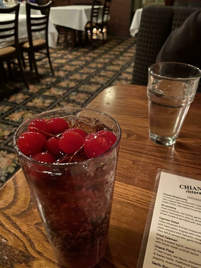 Asked For A Cherry Coke At A Restaurant