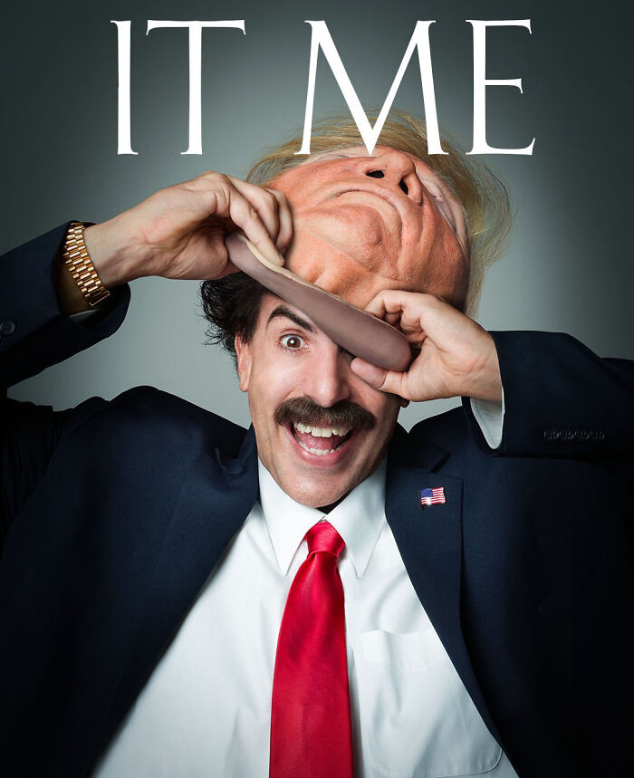 Poster For The Borat 2 Film