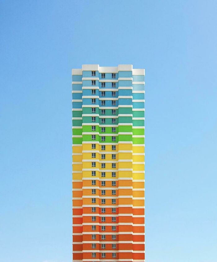Apartment Building In Istanbul, Turkey