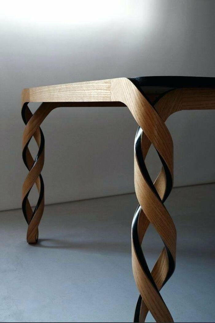 Double Helix Table Legs