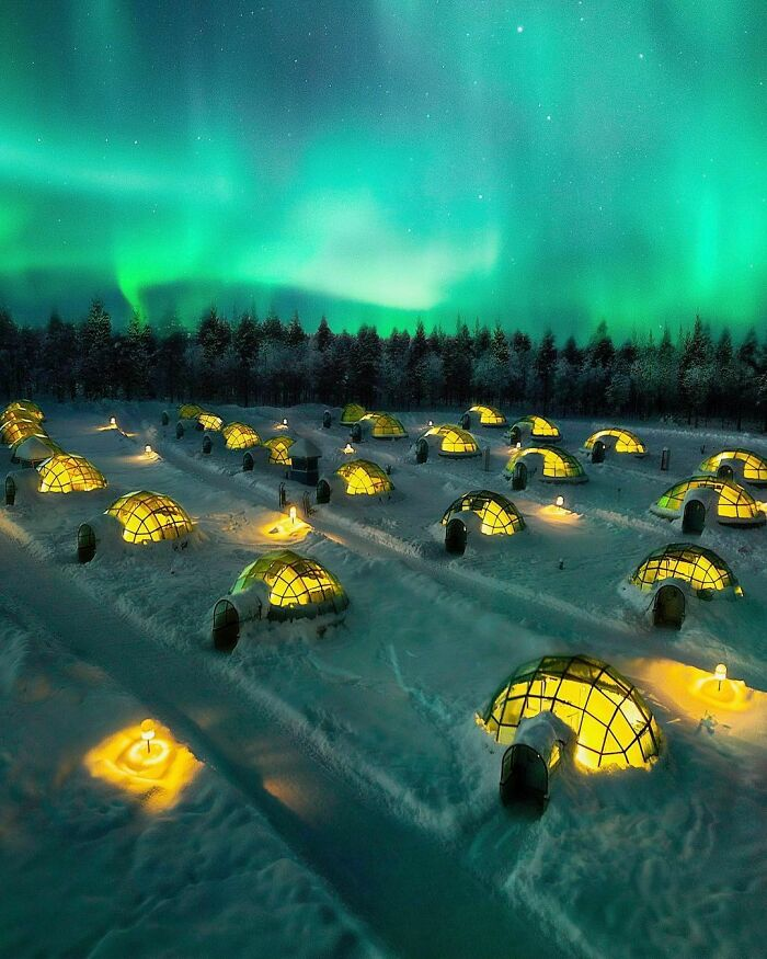Igloo Hotels In Lapland, Finland