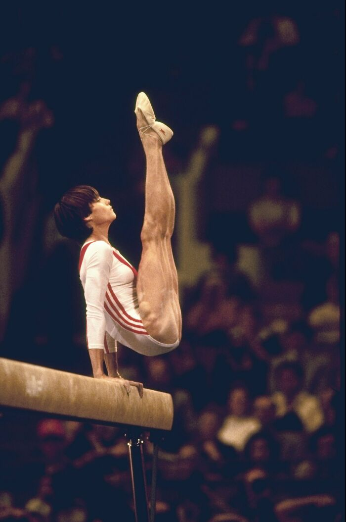 Leg Muscles Of The First Perfect 10 In Olympic History, At Age 14. Nadia Comaneci