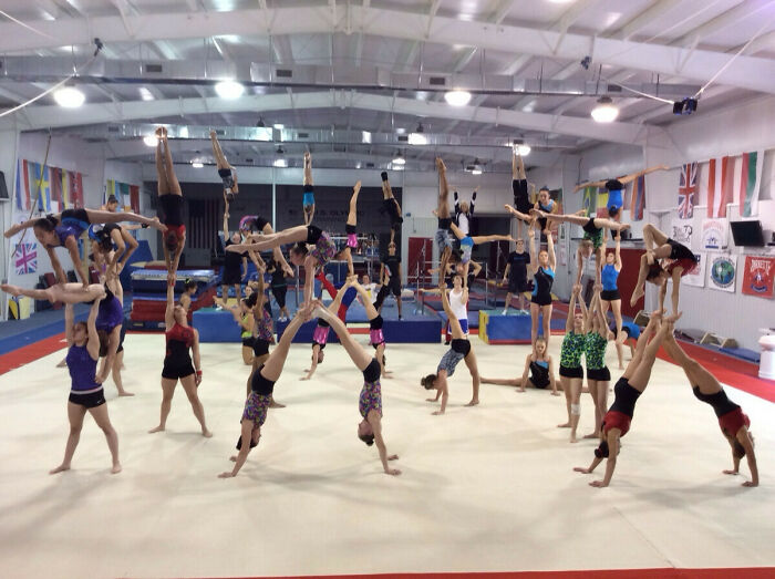 Acrobatic Gymnastics Elite And Level 10 Training Camp At Karolyis Olympic Training Site