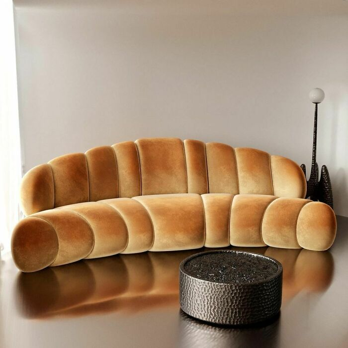 Croissant prohibido (sofá)