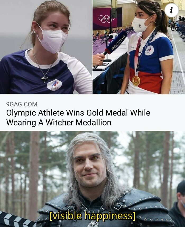 Toss Your Medal To The Athletes ~
