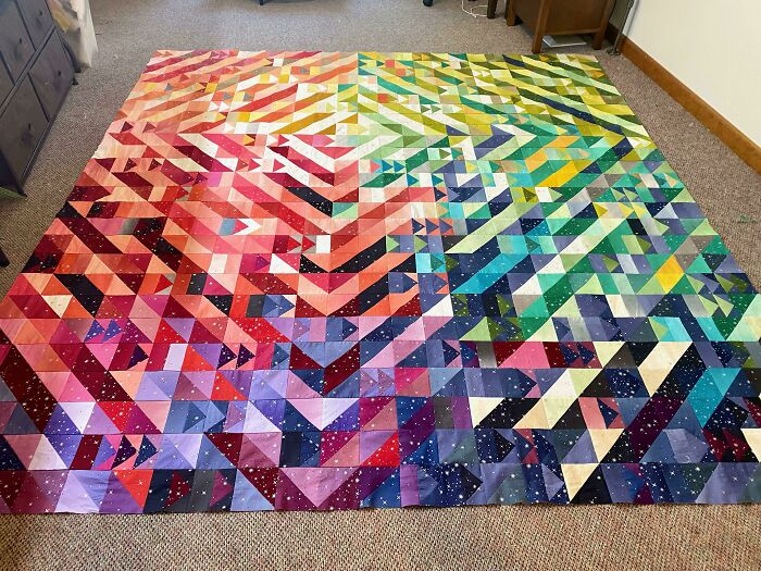 My Aunt's Quilt - She Astounds Me!