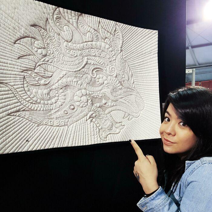 My Work At 22° Gramado Internacional Quilt Expo - Br
