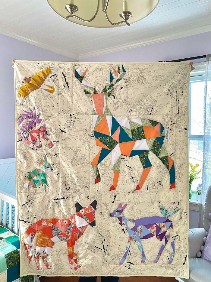 A Handmade Nursery For Our Baby Girl, Arriving Tomorrow!
