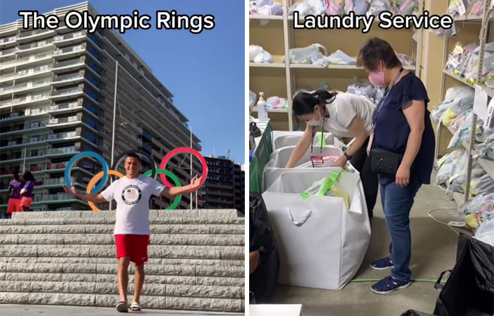 This Olympic Rugby Player Makes Videos On What Perks Athletes Enjoy At The Olympic Village