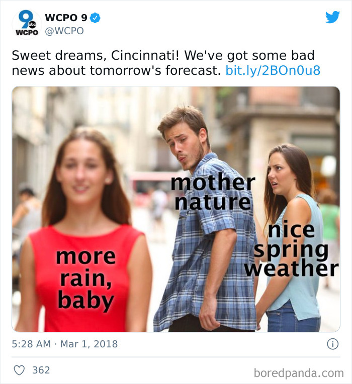 Weather Memes By The Fellow Kid Weatherman