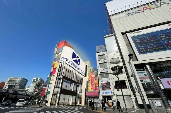 Esta pantalla publicitaria gigante con un gato hiperrealista en 3D cautiva a los viandantes de Tokyo
