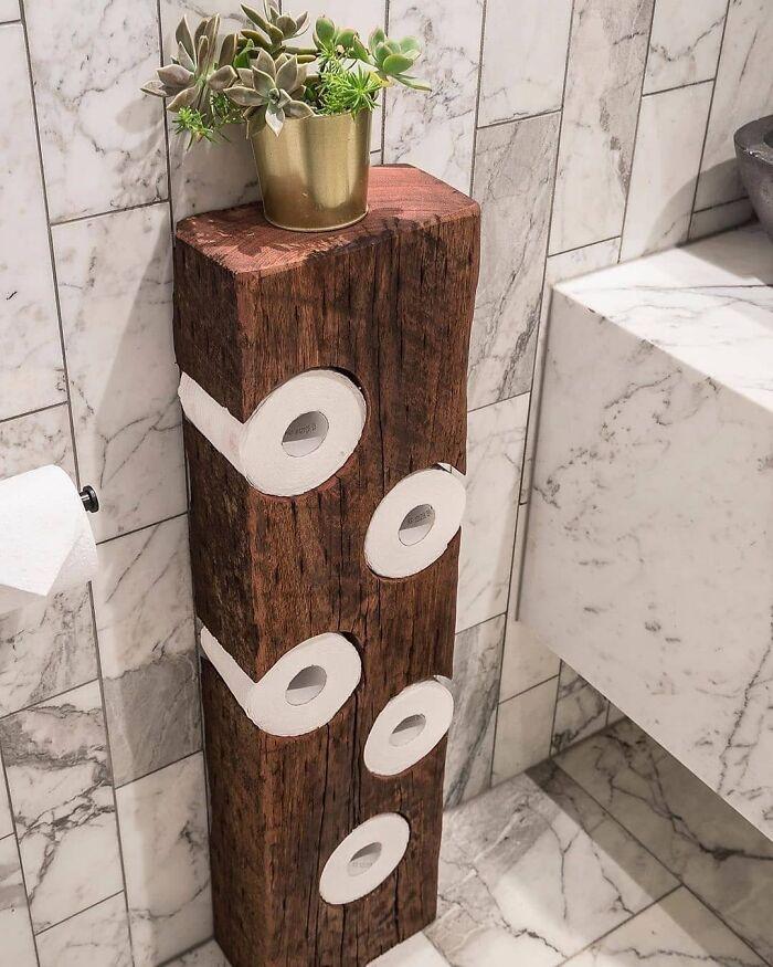 Toilet Paper Holder By Bill Jackson-Martin