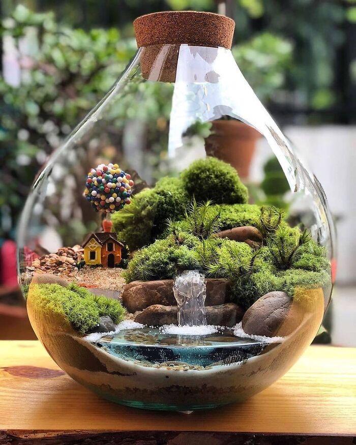 Miniature Terrariumby Jardim No Pote