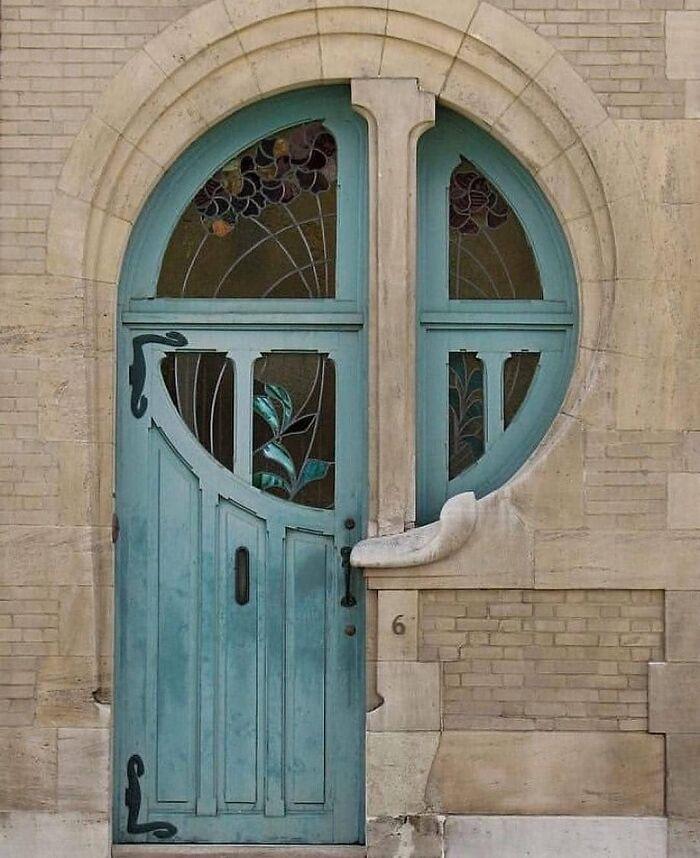 The Door By Ernest Delune