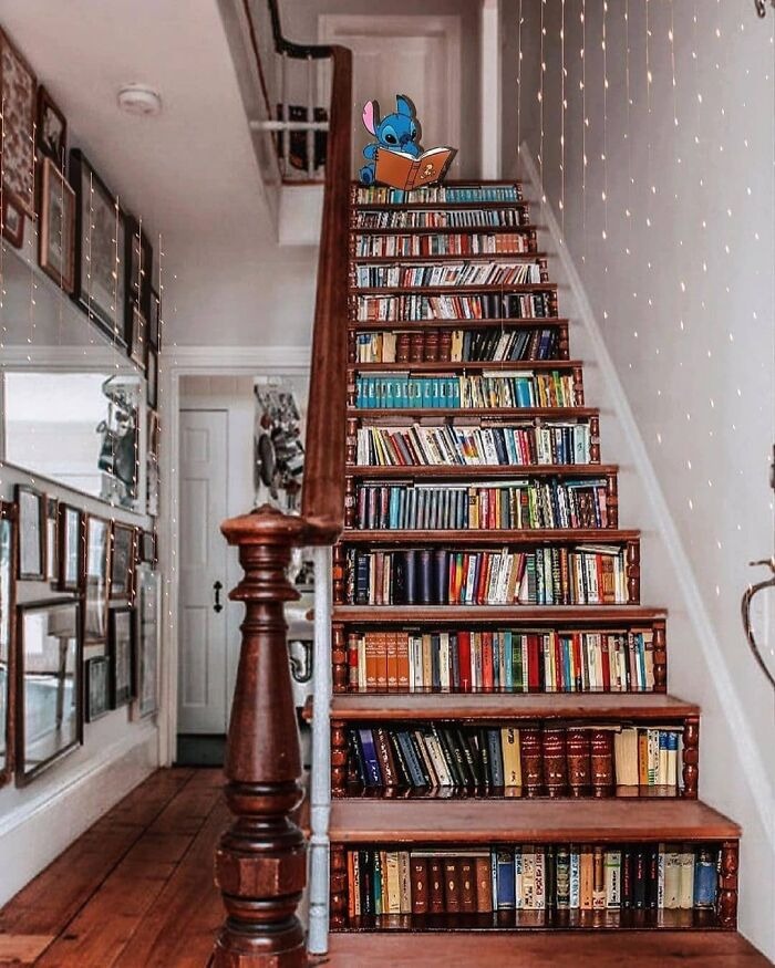 The Perfect Staircase For Book Lovers Edit By Lulumoonowlbooks
