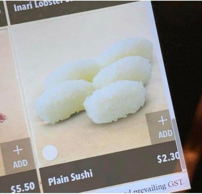 ¿Te gusta el sushi sencillo?