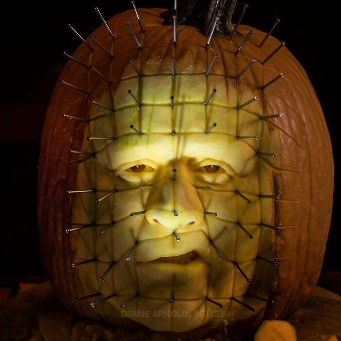 Deane Arnold Brings Pumpkins To Life!