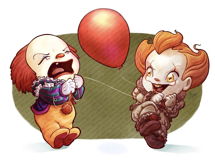 Clown Fight