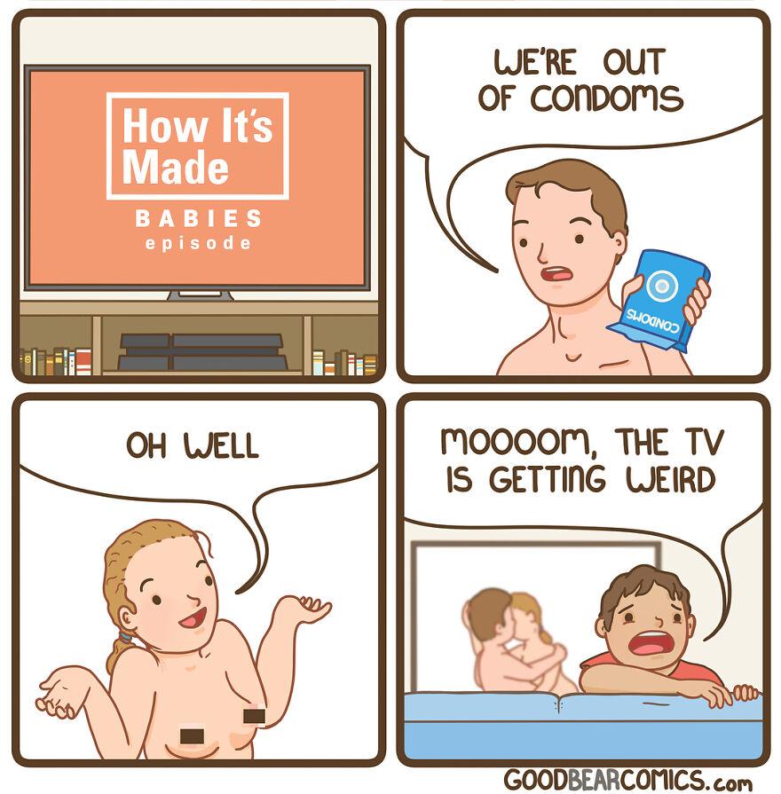 Enjoy The Morbid Humor Of 'Good Bear Comics' (New Pics)