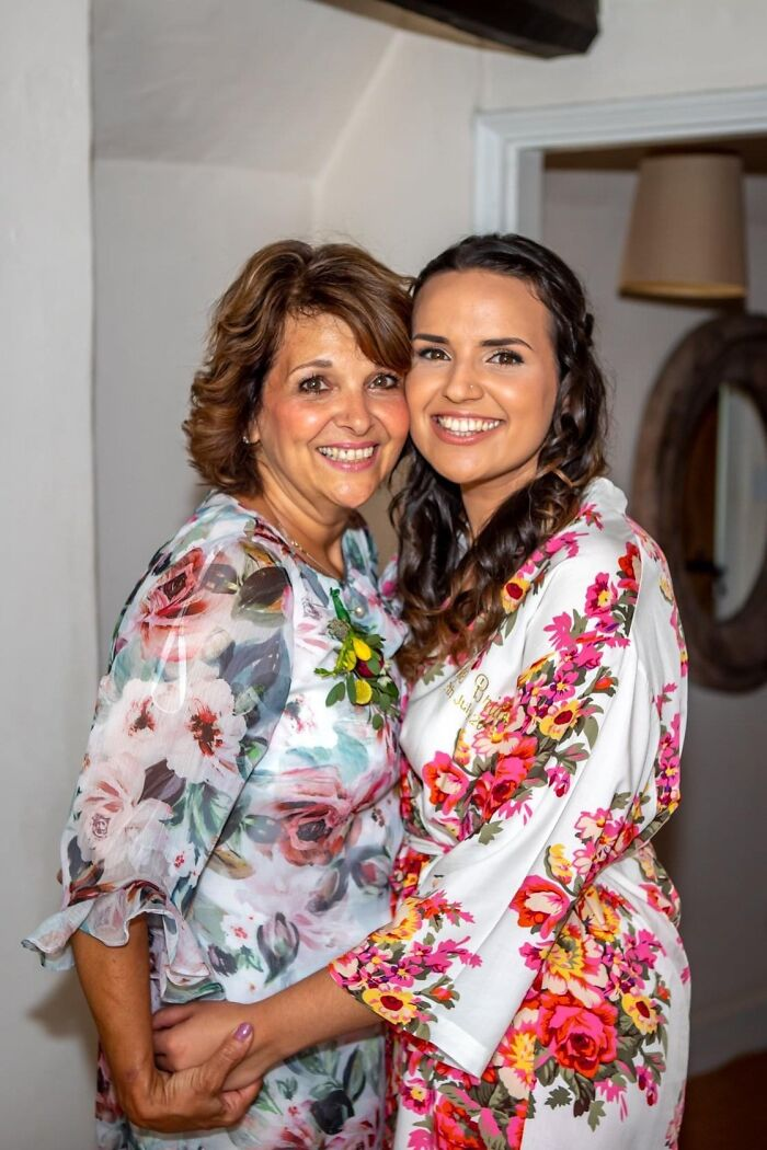 Me And My Beautiful Mama On My Wedding Day