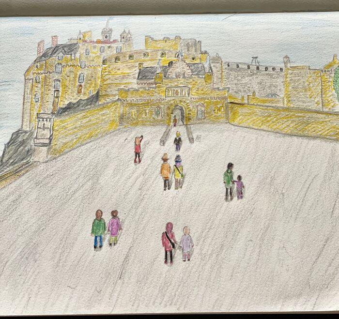 Edinburgh Castle - Our Last International Holiday Before Covid