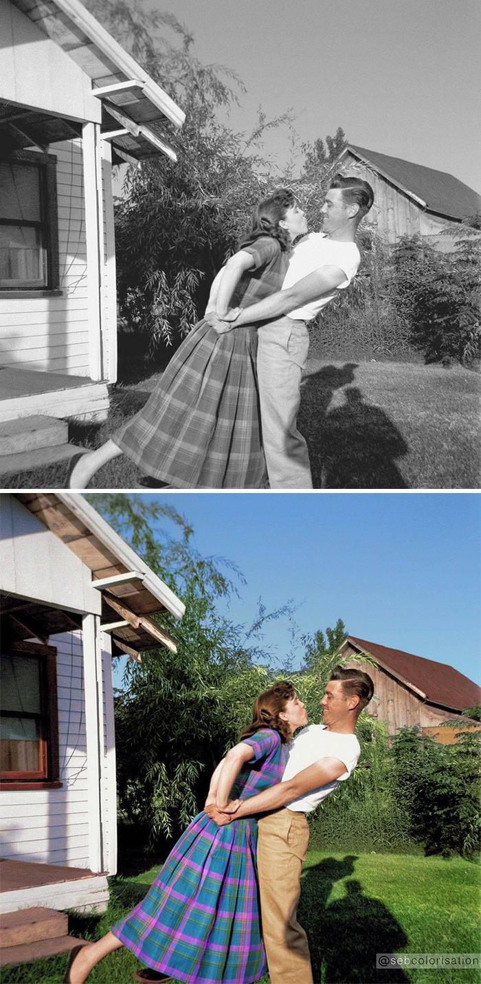 Happy Anonymous Couple, 1948