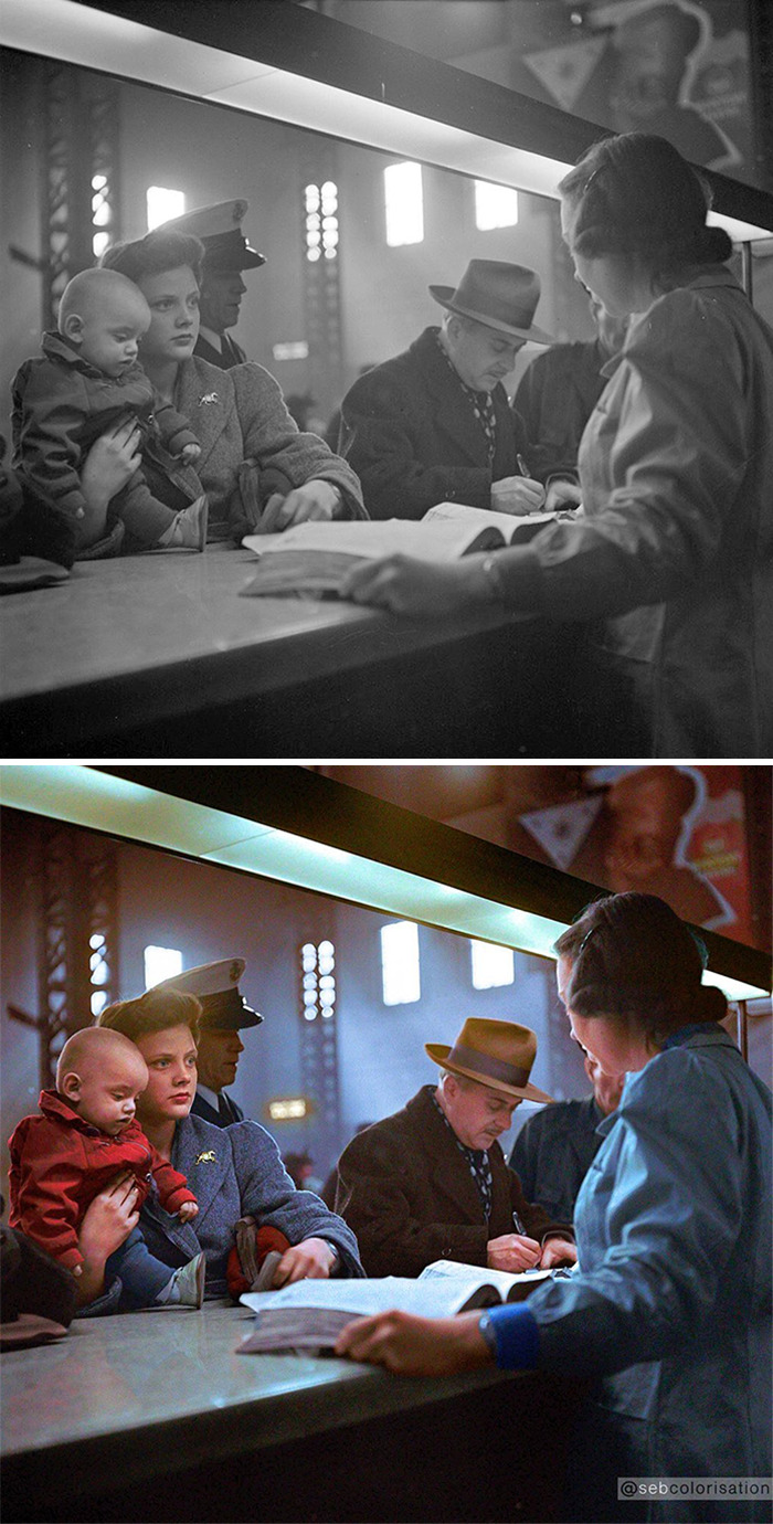 Union Station, Chicago By Jack Delano, 1943