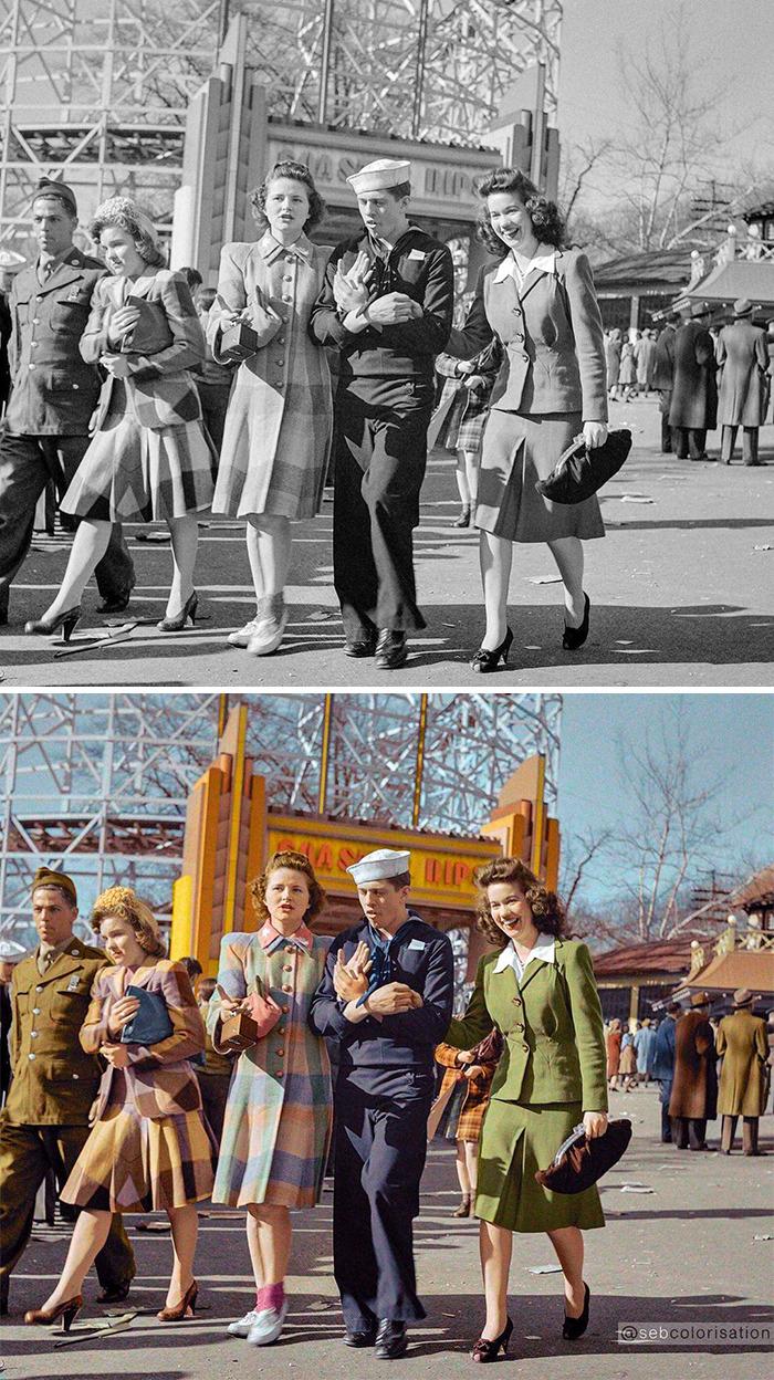 Glen Echo Park, Montgomery County, Maryland, April 1943