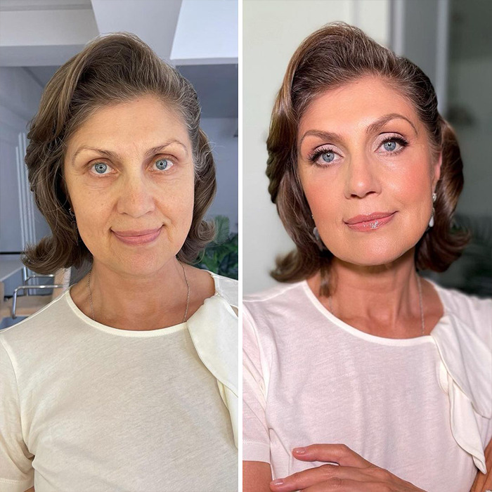 76 Before And After Pics Of Women Who Got Hollywood-Like Transformations From This Makeup Artist