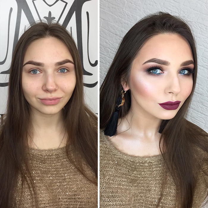 Russian Makeup Artist Makes Real Works Of Art On The Faces Of Her Clients