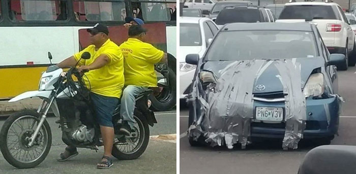 This Facebook Group Documents Examples Of Bad Drivers, And Here Are 35 Of Their Funniest Posts
