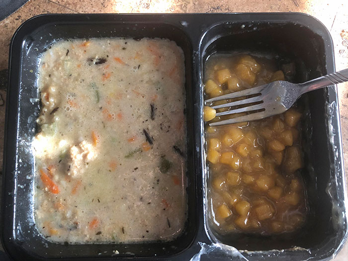 Hospital Food Looks Like The Opposite Of Food. America The Great US