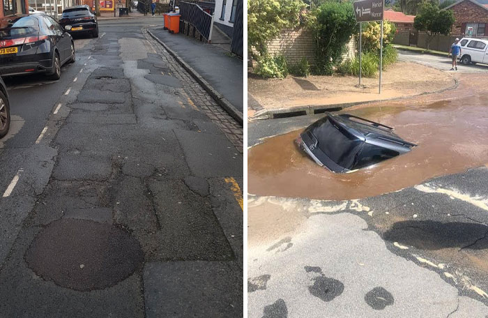 People Share The Worst Roads In Their Countries After Brit 'Complains' About A Potholed Street And Here Are 43 Of The Scariest Ones