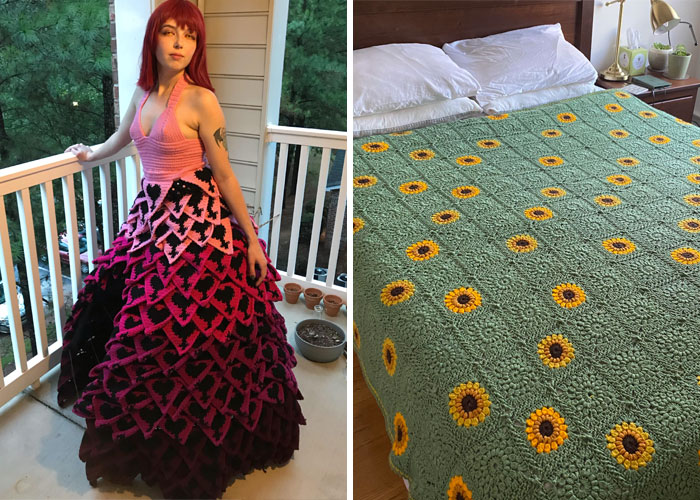 50 Of The Most Creative And Beautiful Works Shared In This Crochet Lovers Community
