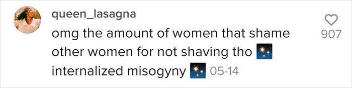 Woman's Explanation On Why Males And Females Have Different Body Hair Standards Goes Viral