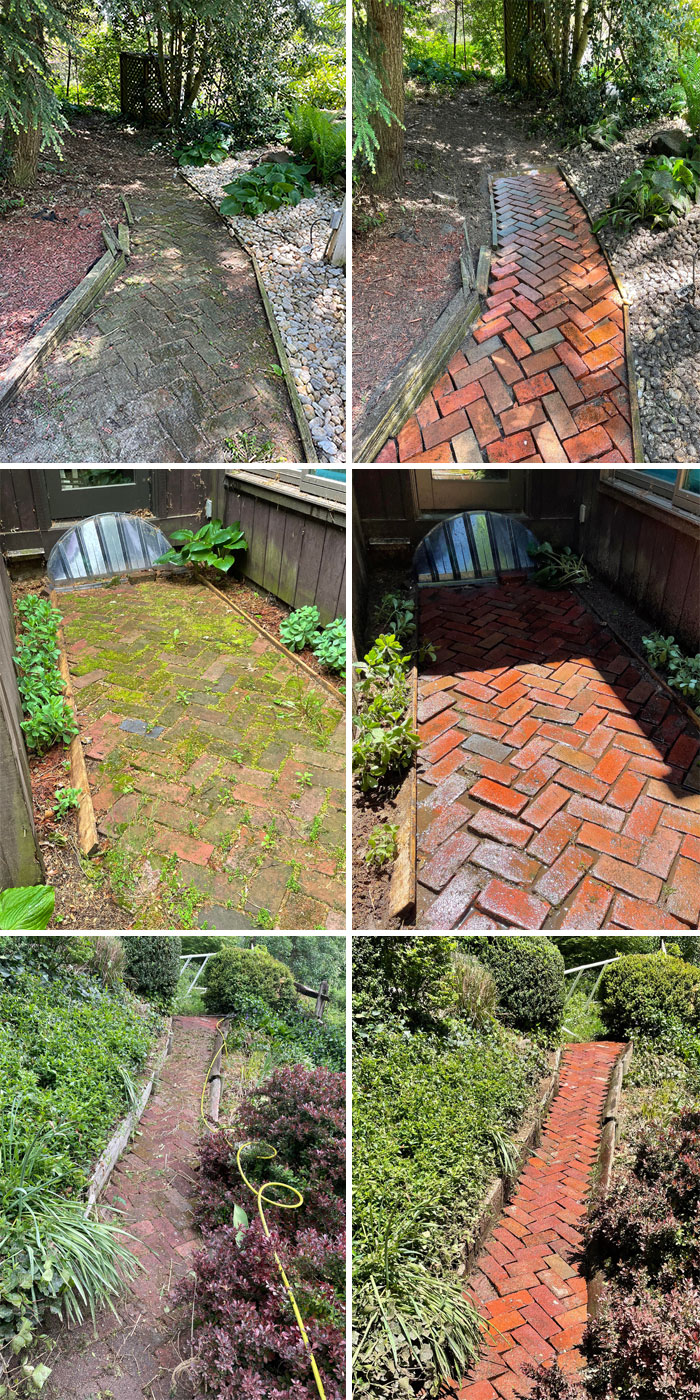 The Other Day I Posted About A Job That Was Keeping Me Discouraged, A Real Doozy Of A Job With No Drainage Areas. Figured I'd Share Some Pictures Of The Job