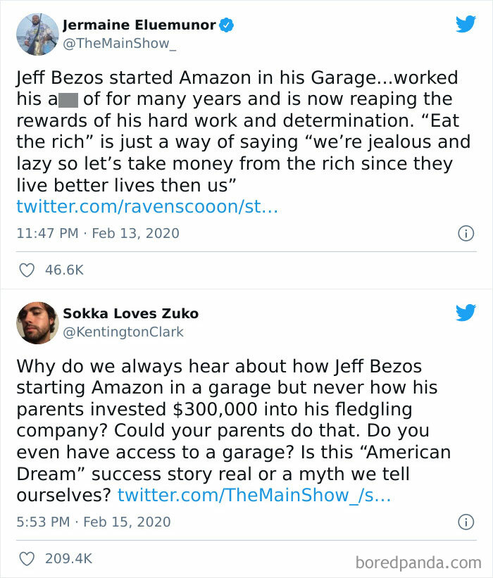 Bezos Received A Small Loan Of 300,000 From Parents And A Million Dollars From Relatives In 1995