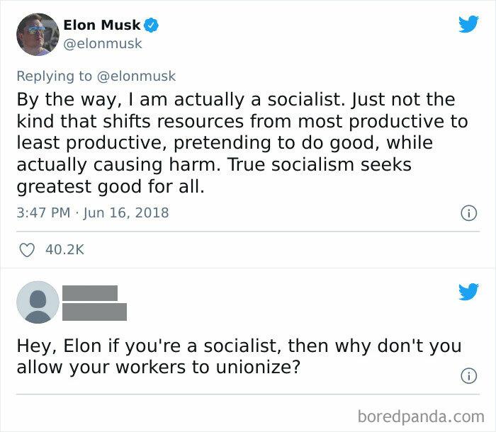 Capitalist Scumbag Thinks He's A Socialist